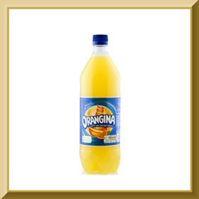 نوشیدنی اورنجینا پرتقالی گازدار 1 لیتری