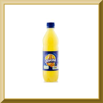 نوشیدنی اورنجینا پرتقالی گازدار 500